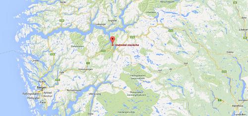 undredal_mapa