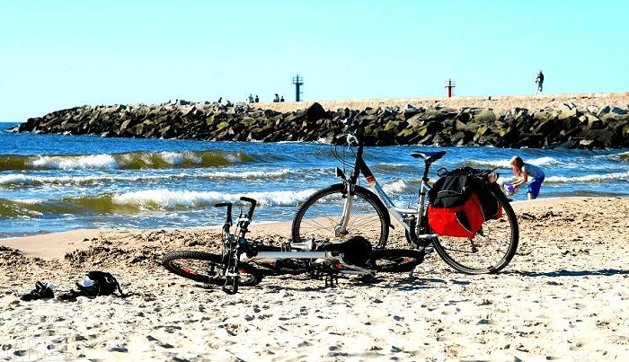 darlowo,rower