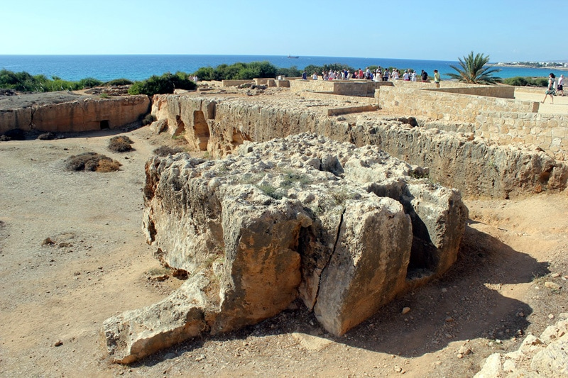 pafos,ruiny
