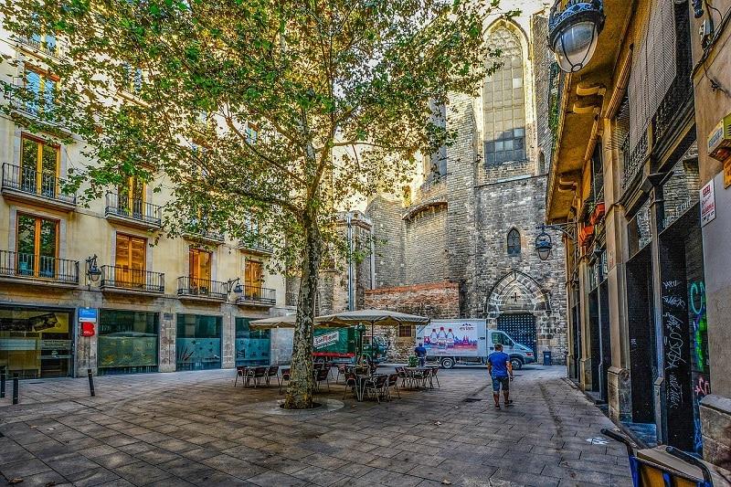 barcelona,gotyk
