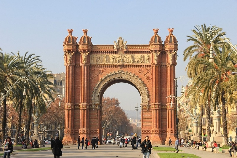 barcelona,luk,triumfalny