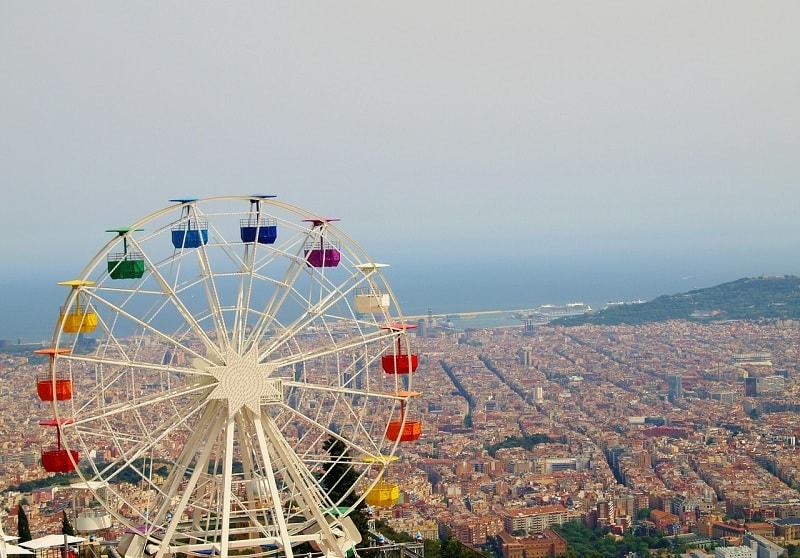 barcelona,tibidabo