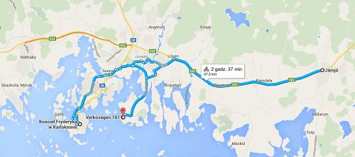 trasa,szwecja
