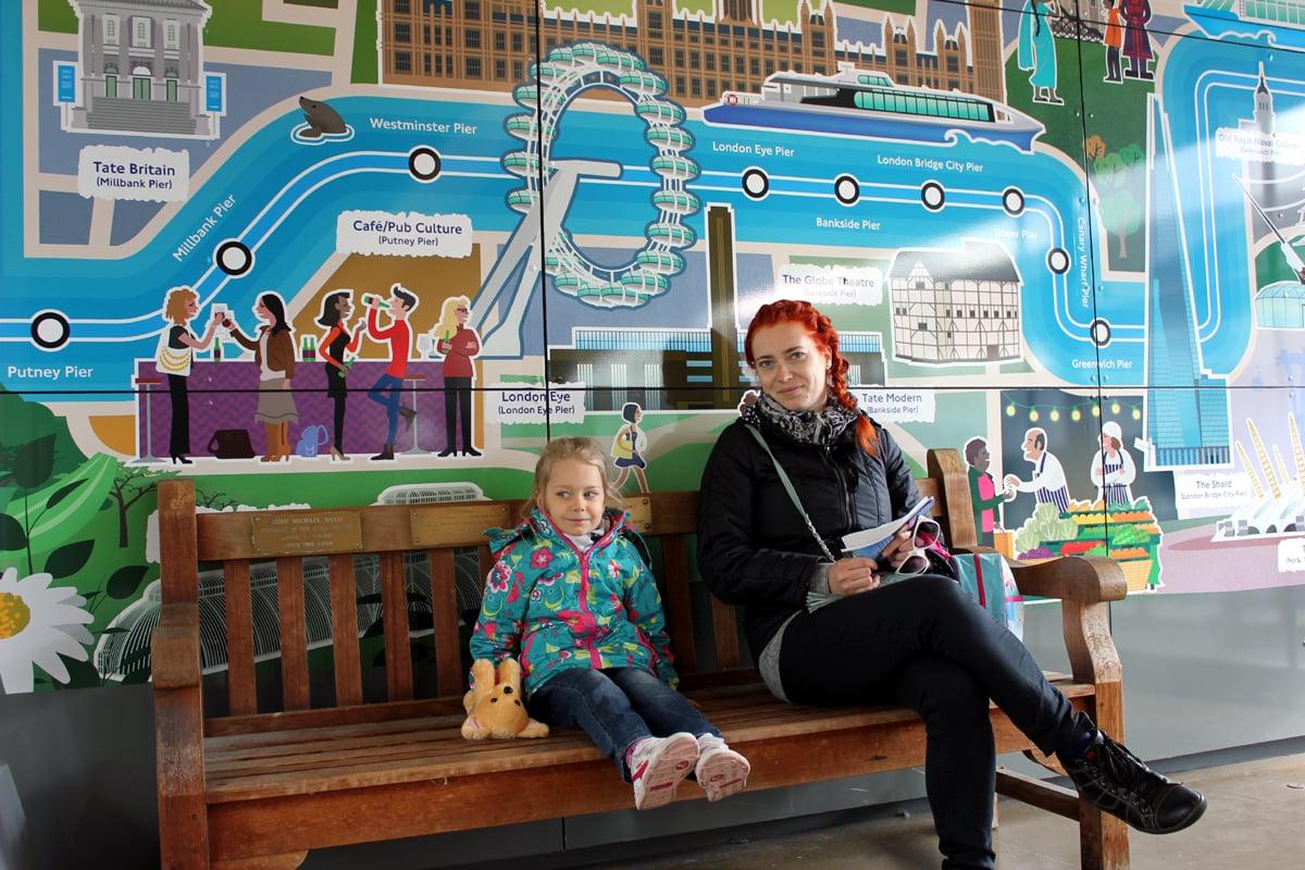 Londyn z dzieckiem