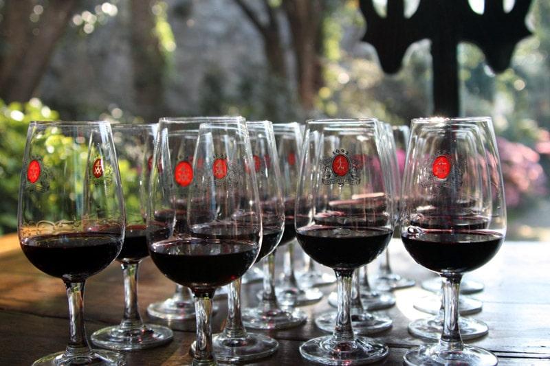 Degustacja wina porto