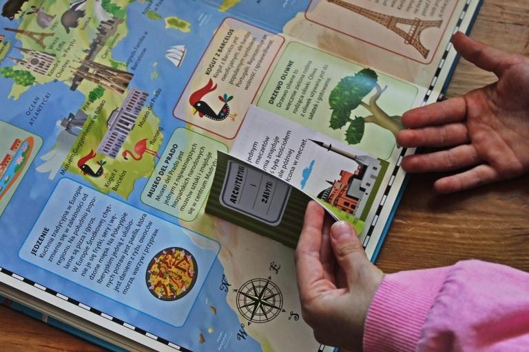 Atlas Europy i Atlas Świata dla dzieci