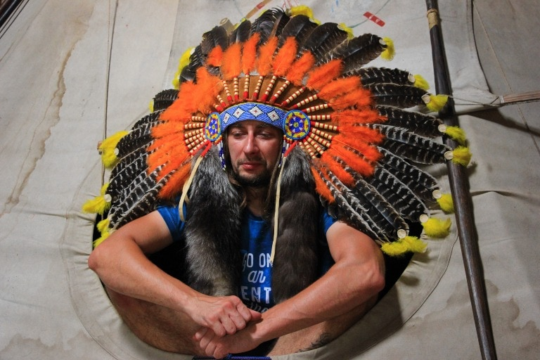 Wymysłowo. Muzeum Indian Ameryki Północnej