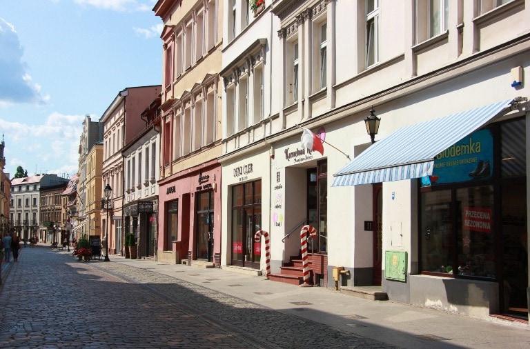 Ulica Długa w Bydgoszczy