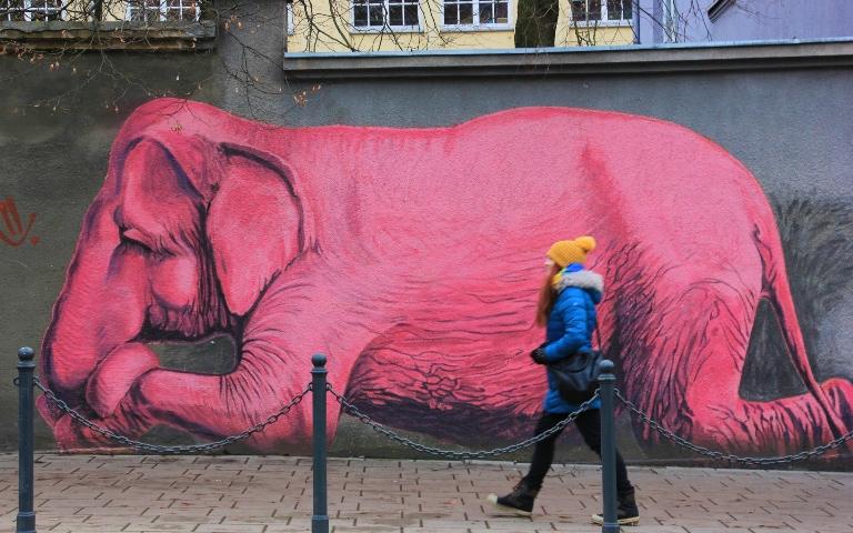 Sztuka uliczna w Kownie