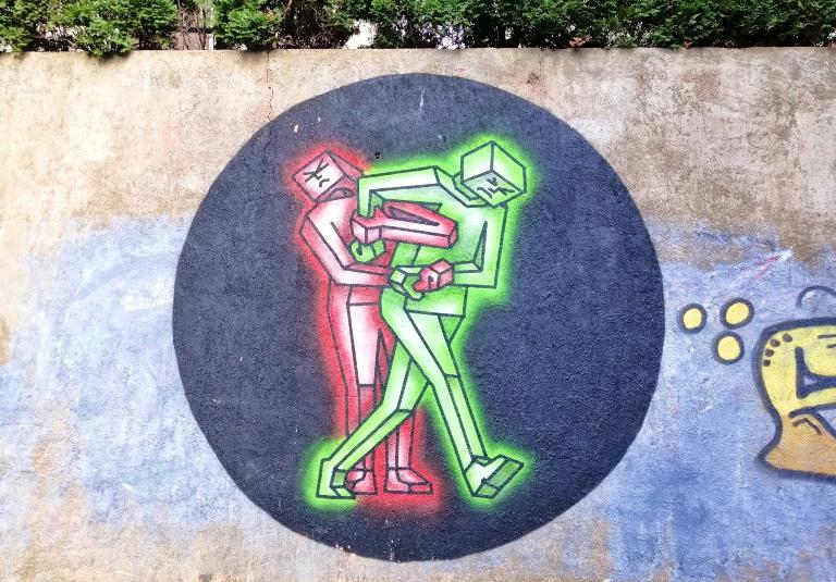 Murale w Kownie