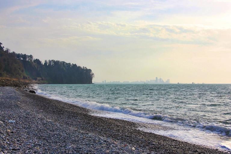 Plaża przy Ogrodzie Botanicznym