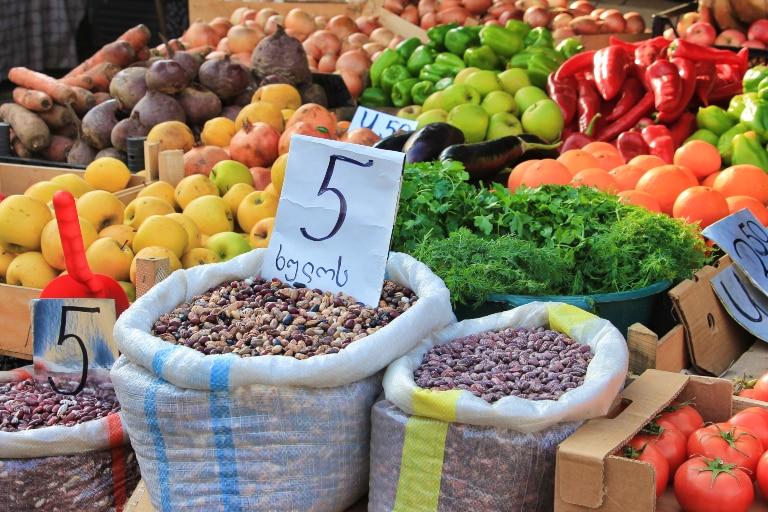 Bazar w Batumi