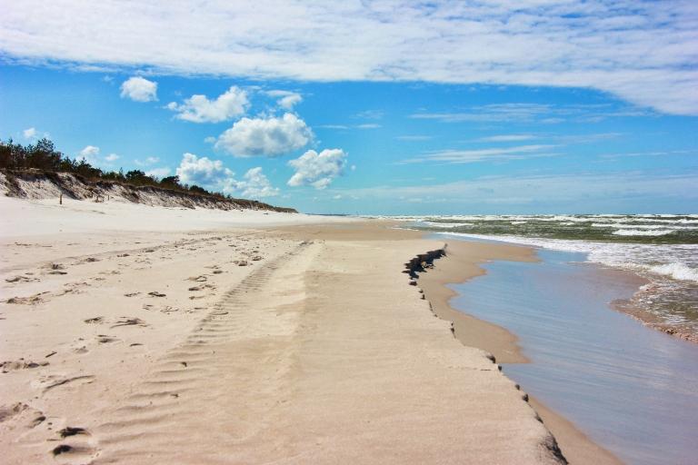 Plaża niedaleko Sasina