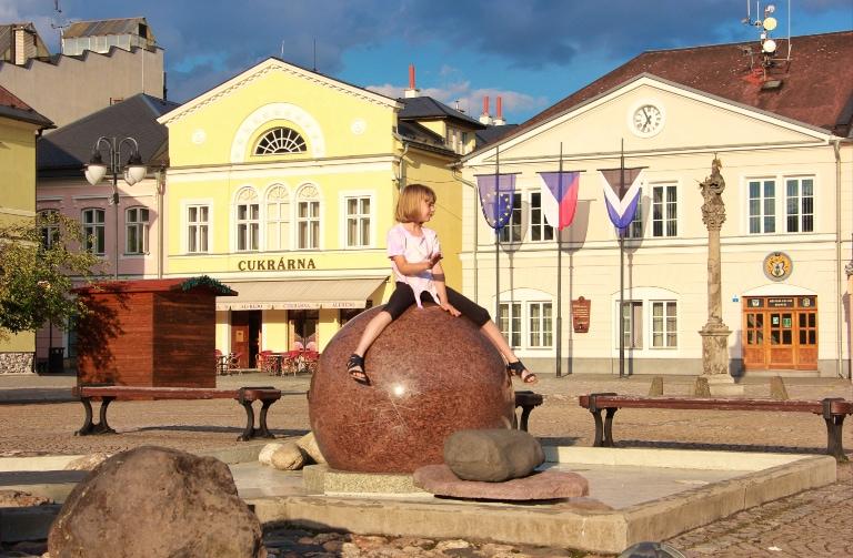Czechy z dzieckiem
