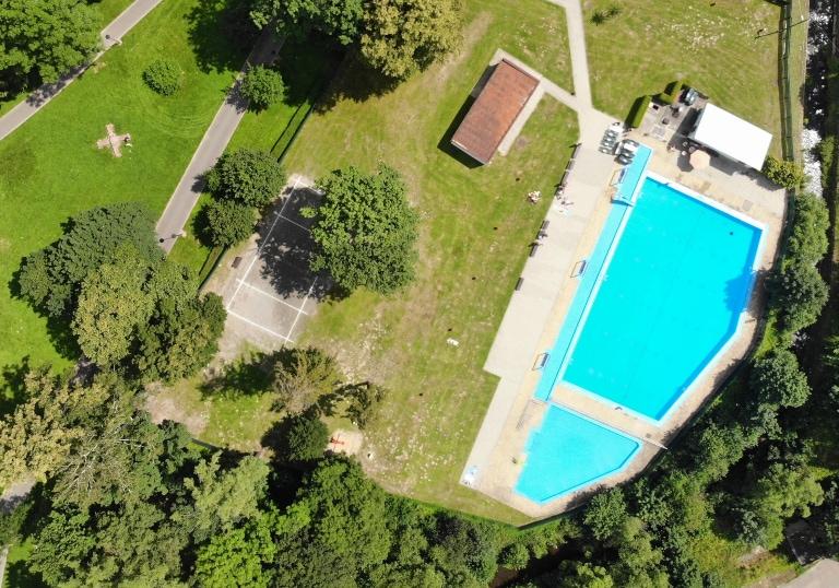basen miejski w Bruntalu