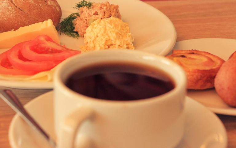Śniadanie w Tristan Hotel & SPA
